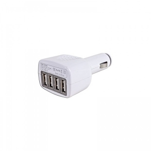 Adaptor auto 12V USB 4in1